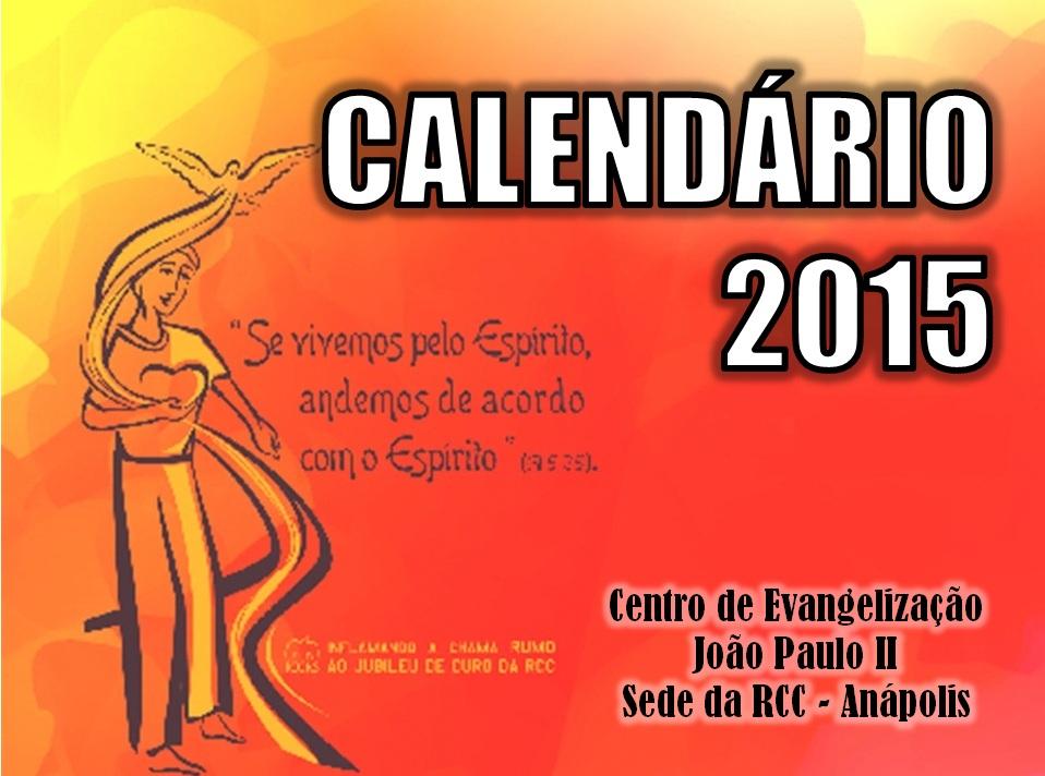 Agenda - RCC - Anápolis. (1/6)