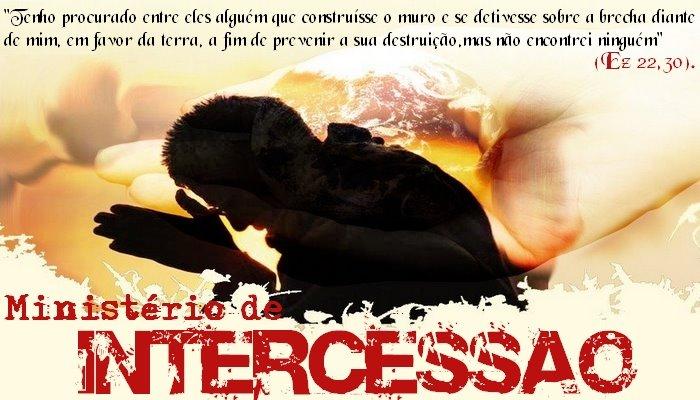 MINISTÉRIO DE INTERCESSÃO - RCC. (1/6)